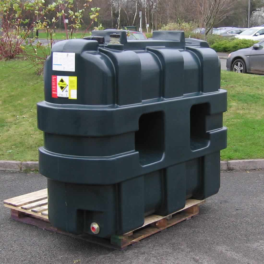 1200 cs single skin tank