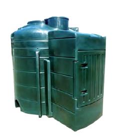fuel post 5000 litre